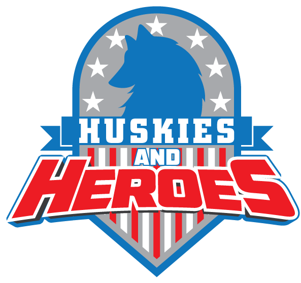 Huskies and Heroes LOGO