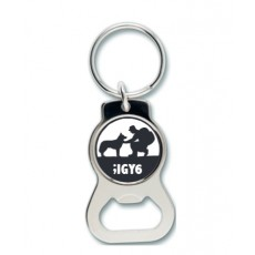 Huskies and Heroes ;IGY6  Bottle Opener Key Ring
